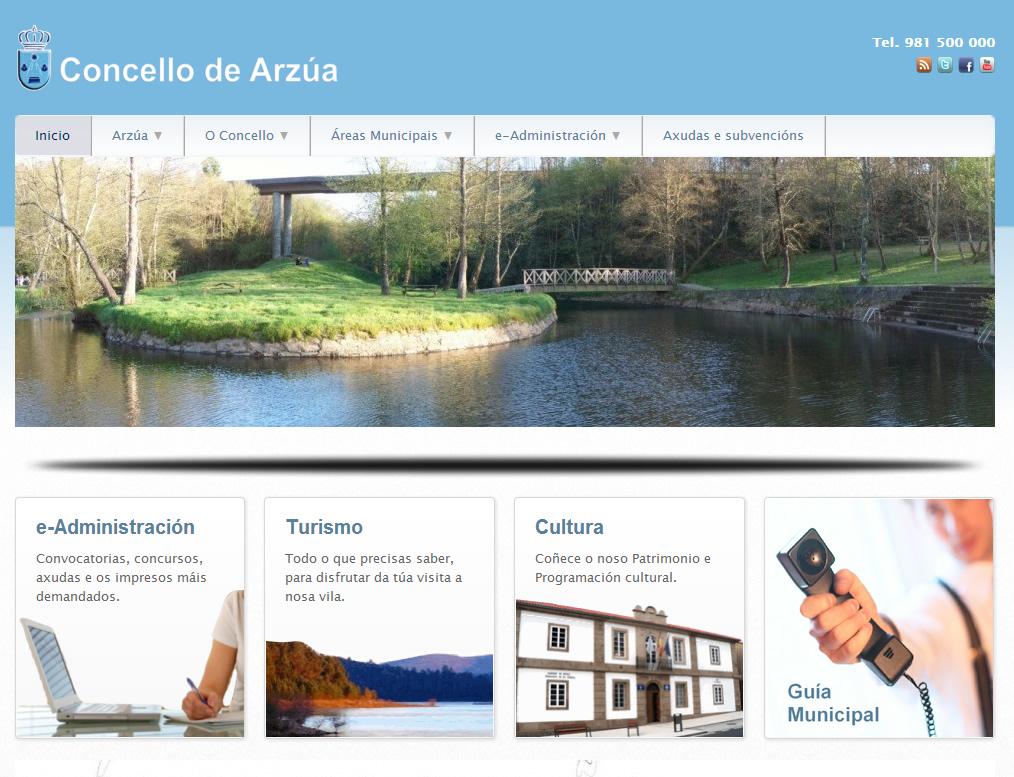 Concello de Arzúa - web