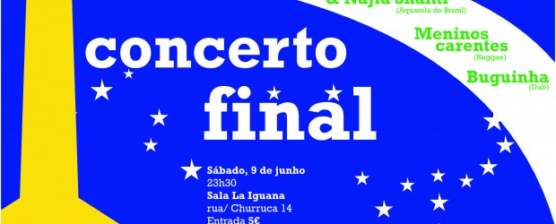 O sábado, 9 de junho, haverá um concerto para simbolizar o encerramento do éMundial e convidar-vos para a edição 2013. Porém, ainda restarão algumas atividades, como indica o programa!